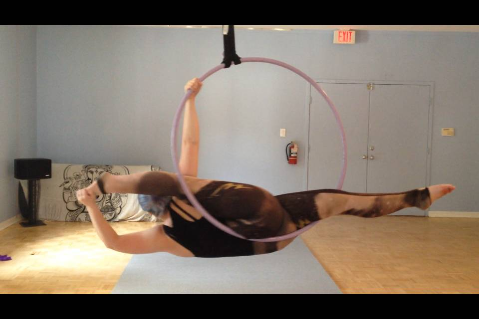 Lyra Aerial Hoop Stretch