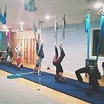 Upside Down Aerial Hoop Practitioners